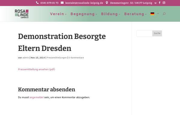 Vorschau von www.rosalinde-leipzig.de, JuLe Leipzig