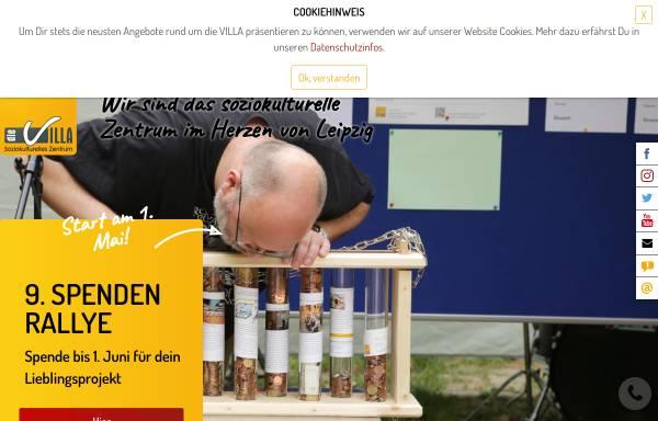 Vorschau von www.villa-leipzig.de, Soziokulturelles Zentrum