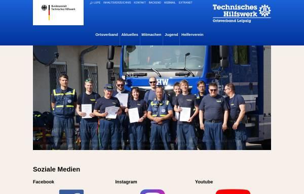 Vorschau von www.thw-leipzig.de, THW Ortsverband Leipzig