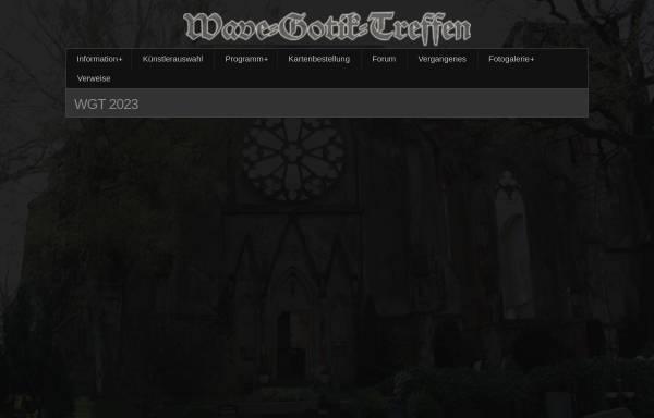Vorschau von www.wave-gothic-treffen.de, Wave-Gothic-Treffen