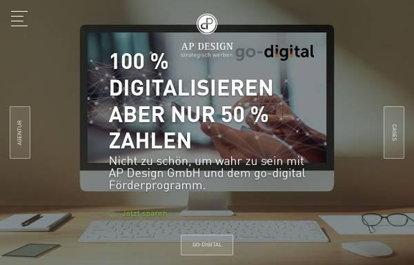 Vorschau von www.apdesign.de, AP Design GmbH