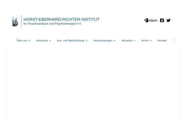 Vorschau von www.gpi.dpv-psa.de, Giessen Institut f. Psychoanalyse u. Psychotherapie e.V. (IPP)