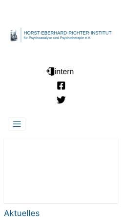 Vorschau der mobilen Webseite www.gpi.dpv-psa.de, Giessen Institut f. Psychoanalyse u. Psychotherapie e.V. (IPP)