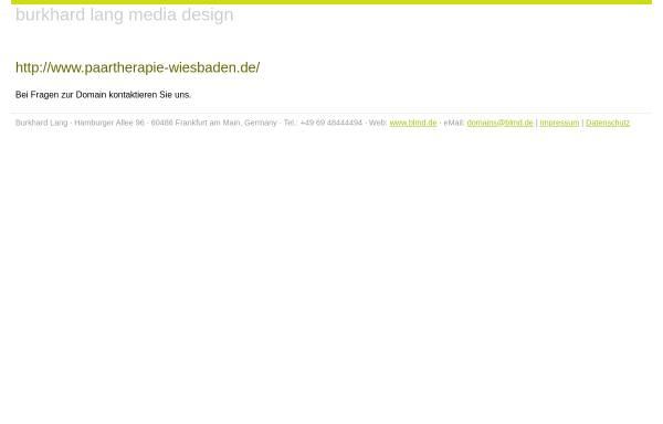 Vorschau von www.beziehungswerkstatt-wiesbaden.de, Tiefenpsychologisch fundierte Psychotherapie - Hans Uwe Rose