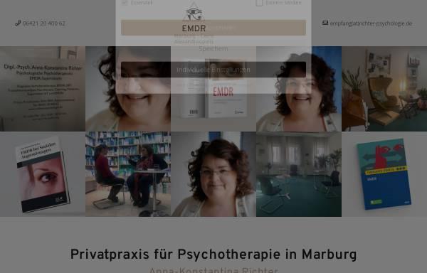 Vorschau von www.richter-psychologie.de, Verhaltenstherapie - Anna Konstantina Richter