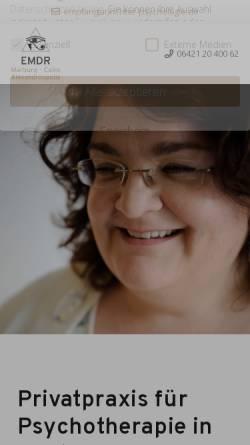Vorschau der mobilen Webseite www.richter-psychologie.de, Verhaltenstherapie - Anna Konstantina Richter
