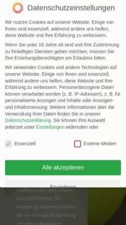 Vorschau der mobilen Webseite www.ab-design-berlin.de, ab-design GmbH