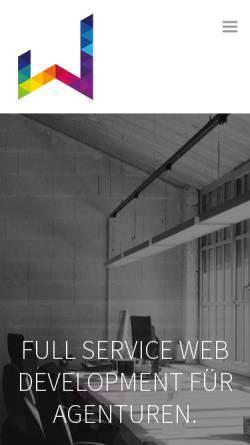 Vorschau der mobilen Webseite www.webdesignetc.at, Web Design etc.