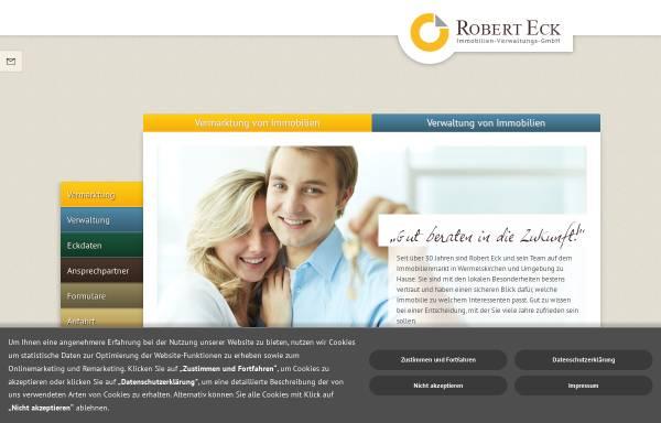 Vorschau von www.eck-immo.de, Robert Eck Immobilien-Verwaltungs-GmbH