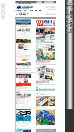 Vorschau der mobilen Webseite www.gb-design.de, Gb-design