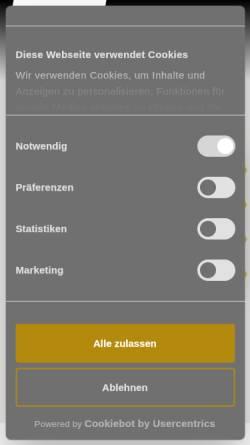 Vorschau der mobilen Webseite www.jahrhunderthalle.de, Jahrhunderthalle