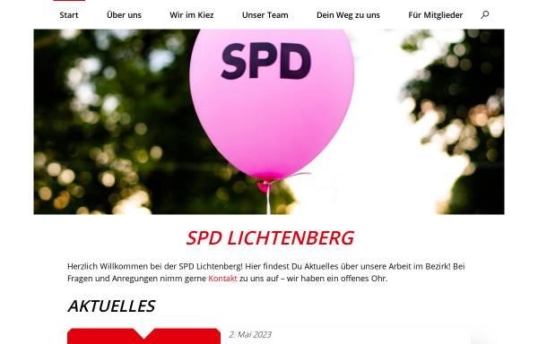 Vorschau von spd-lichtenberg.de, Jusos Lichtenberg