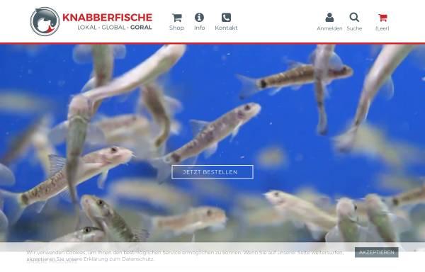 Vorschau von www.kangal-knabberfische.de, Kangalfische