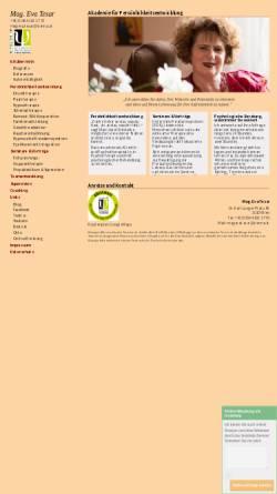 Vorschau der mobilen Webseite www.eva-tesar.at, Mag. Eva Tesar