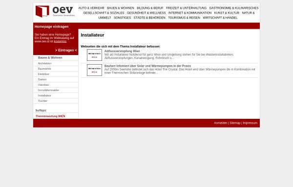 Vorschau von www.wiener-installateur.at, In Therm - Installateur & Notdienst