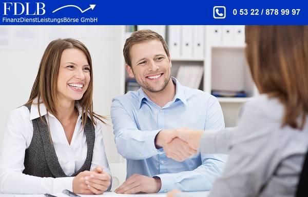 Vorschau von www.fdlb.info, FDLB Finanzdienstleistungsbörse GmbH