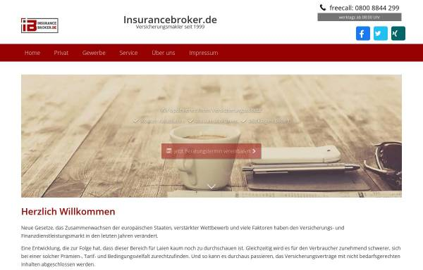 Vorschau von www.insurancebroker.de, InsuranceBroker.de - AKD Internet GmbH