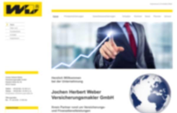 Vorschau von www.weber-versicherungsmakler.de, Jochen Herbert Weber Versicherungsmakler GmbH
