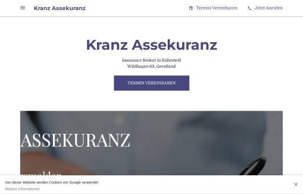 Vorschau von www.kranz-assekuranz.com, Kranz Assekuranz GbR