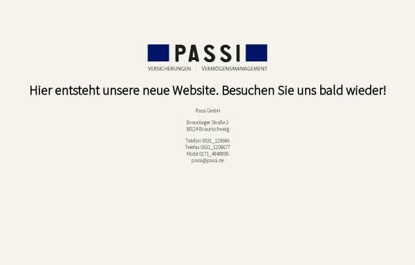 Vorschau von www.passi.de, Passi und Partner