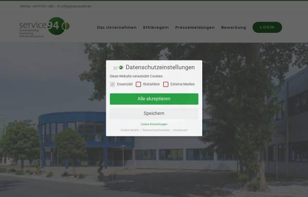 Vorschau von service94.org, Service94 GmbH