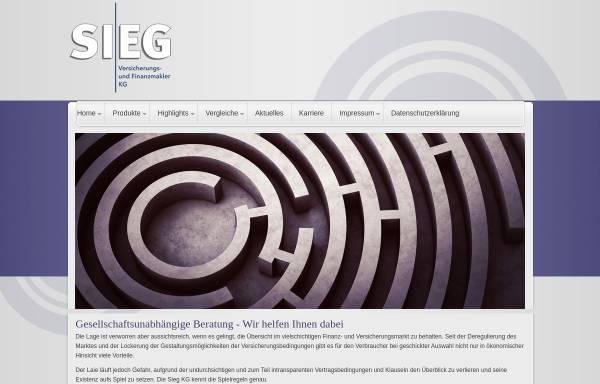 Vorschau von www.sieg24.de, Sieg KG