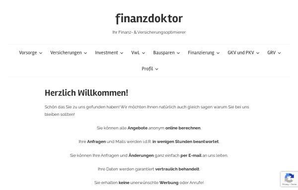 Vorschau von www.finanzdoctor.de, Toralf Tepelmann [finanzdoctor.de]