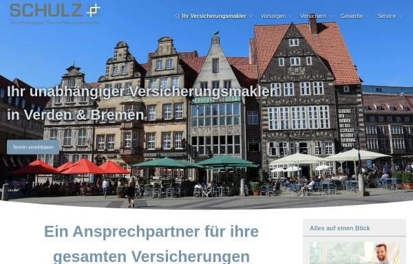 Vorschau von www.finanzmakler-schulz.de, Versicherungsmakler Dipl. Kfm. Matthias Schulz