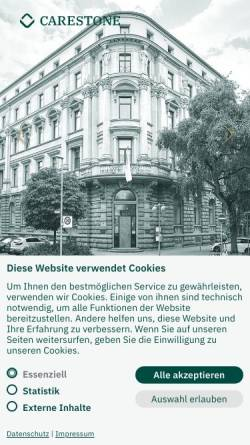 Vorschau der mobilen Webseite www.wirtschaftshaus.de, Wirtschaftshaus GmbH & Co KG