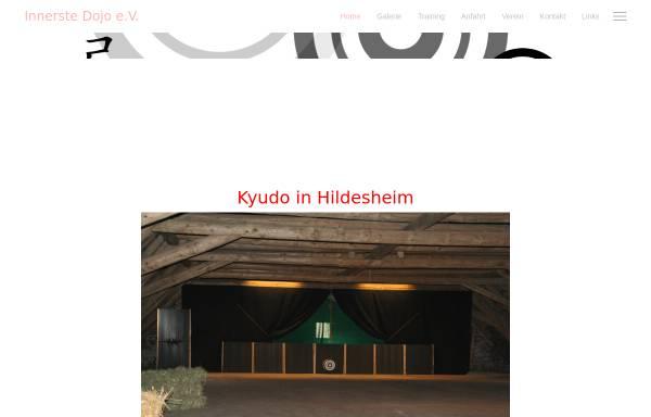 Vorschau von kyudo-hildesheim.de, Kyudo Gesellschaft Hildesheim e.V.