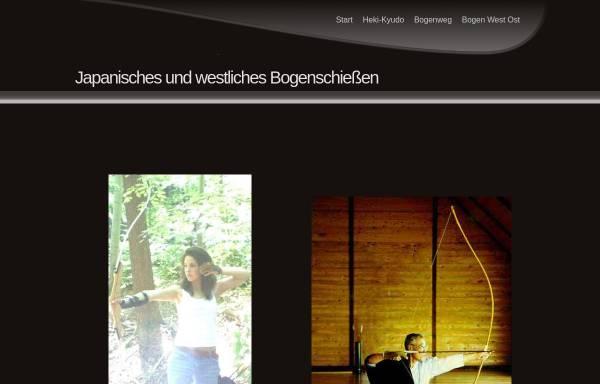 Vorschau von www.kyudo-sum.de, Kyudo Tübingen - Japanisches Bogenschießen