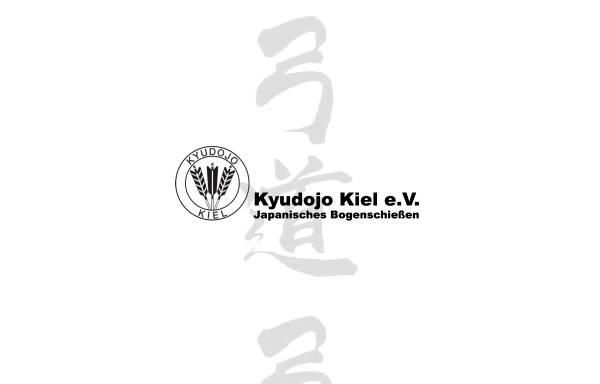 Vorschau von www.kyudojo-kiel.de, Kyudojo Kiel e.V.