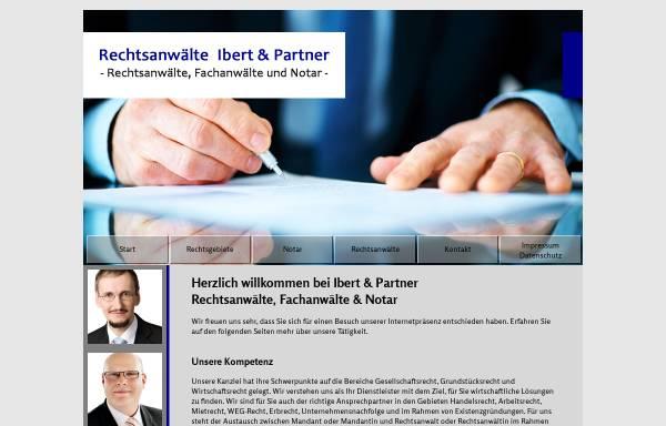 Vorschau von www.ip-berlin.de, Rechtsanwälte Ibert und Passmann