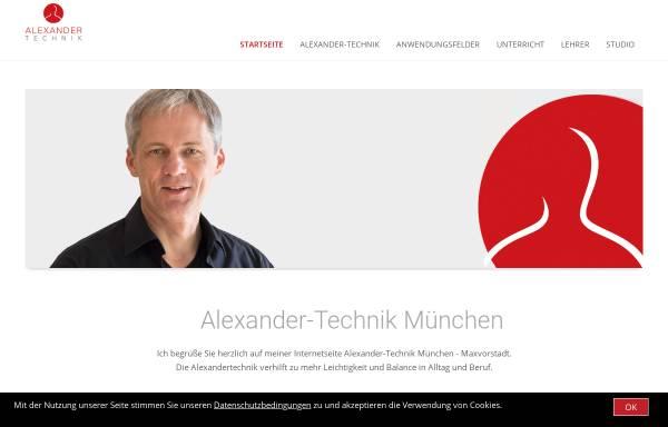 Vorschau von www.alexandertechnik-muenchen.com, Alexander Institut München - Bel Canto