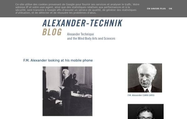 Vorschau von www.alexander-technik.blogspot.com, Alexander-Technik-Blog