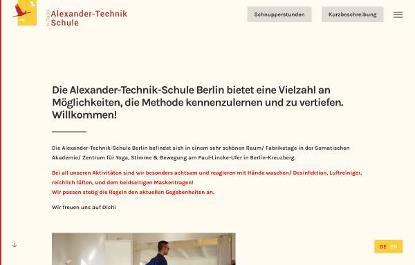 Vorschau von alexander-technik-schule.de, Alexander-Technik-Schule Berlin