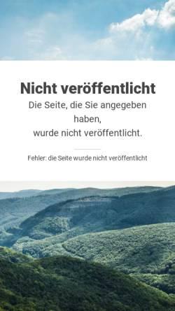 Vorschau der mobilen Webseite www.alexandertechnik-maeder.ch, Anne Mäder Beglinger