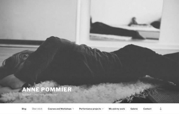 Vorschau von www.anne-pommier.com, Anne Pommier