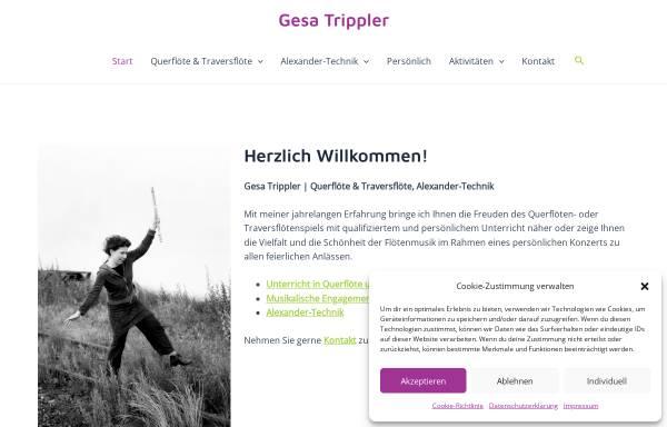 Vorschau von www.gesatrippler.de, Gesa Trippler