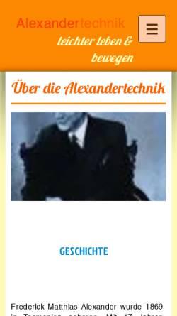 Vorschau der mobilen Webseite www.meikestrohbach.de, Meike Strohbach