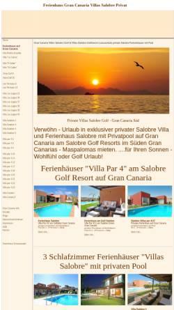 Vorschau der mobilen Webseite www.ferienhaus-canarias.de, Ferienhaus-Canarias