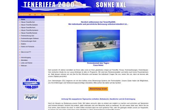 Vorschau von www.teneriffa2000.de, Teneriffa 2000