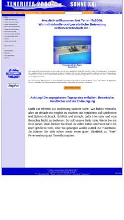 Vorschau der mobilen Webseite www.teneriffa2000.de, Teneriffa 2000