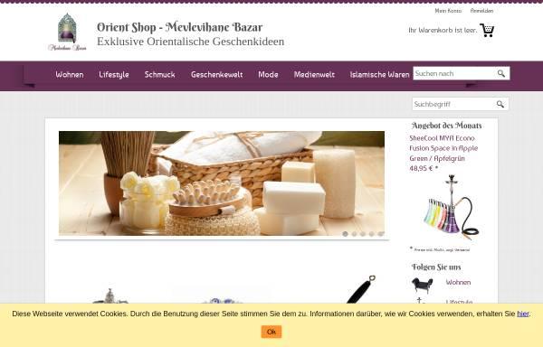 Vorschau von www.orient-shop.de, Orient Life GbR