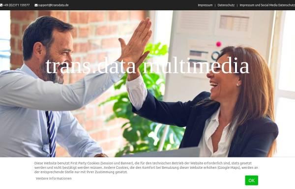 Vorschau von www.transdata.de, Trans.Data