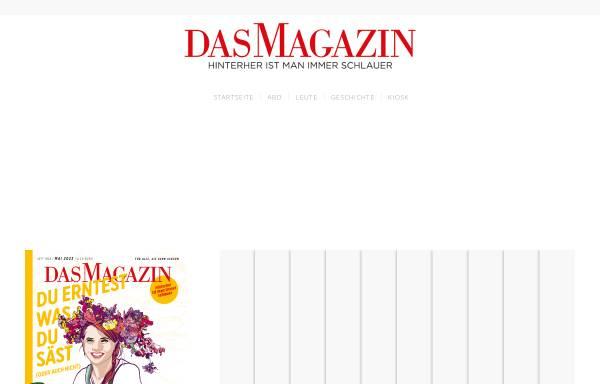Vorschau von www.dasmagazin.de, Dasmagazin.de