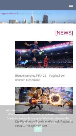 Vorschau der mobilen Webseite digital-lifestyle.ch, Digital-lifestyle.ch