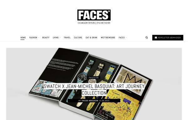 Vorschau von www.faces.ch, Faces.ch