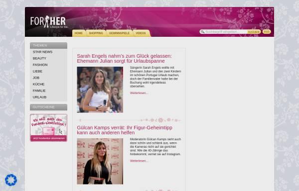 Vorschau von www.forher.de, Forher.de