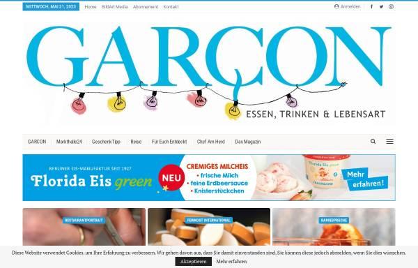 Vorschau von garcon24.de, Garcon